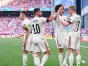 La Belgique a obtenu une précieuse victoire face au Danemark (2-1).