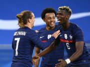 Jubeln Antoine Griezmann & Paul Pogba (r.) auch am Samstagnachmittag gegen Ungarn?
