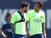 Neymar quiere jugar con Messi