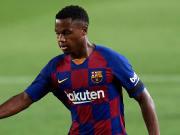 El FC Barcelona quiere atar a Ansu Fati