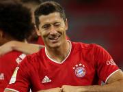 Robert Lewandowski lors de la victoire en ouverture de la Bundesliga face à Schalke.