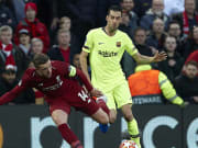 Sergio Busquets hasn't tweeted since Barcelona lost at Anfield