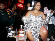 Lizzo Celebrates GRAMMY Weekend With Absolut Juice