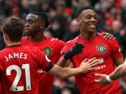Anthony Martial, Bruno Fernandes, Daniel James