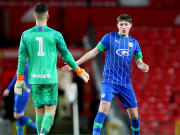 Mini Carragher has impressed in Wigan's academy