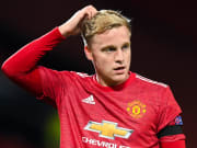 Donny Van de Beek has been a peripheral figure since arriving at Manchester United