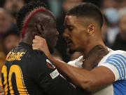 C'était chaud entre Mbaye Diagne et William Saliba en Europa League.