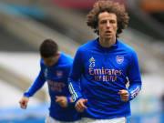 David Luiz en su etapa en el Arsenal