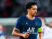 Marquinhos atua no PSG | Paris Saint Germain v Olympique Lyonnais - Ligue 1 Uber Eats