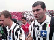 Zinedine Zidane (kanan) di Juventus