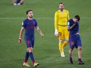 Zum Jubeln war den Atlético-Spielern nach dem 1:1 bei Betis nicht gerade zumute