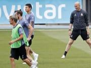 Zinedine Zidane, Fabio Coentrao, Gareth Bale, James Rodríguez, Mateo Kovacic