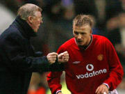 Sir Alex Ferguson dan David Beckham