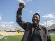 Pelé, l'un des meilleurs joueurs de l'histoire du football.