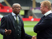 Ronald Koeman, Ian Wright