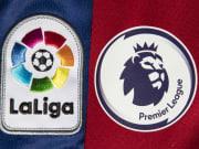 Avrupa'nın 5 büyük ligi arasında yer alan La Liga ve Premier Lig'in armaları