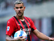 Theo Hernandez of Ac Milan  looks on during the Serie A...