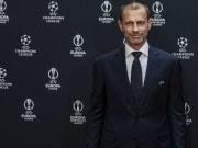 UEFA president Aleksander Ceferin continues to battle against the Super League