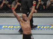 Anderson Silva will fight Julio Cesar Chavez this weekend.
