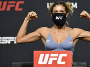 Ashley Yoder vs Jinh Yu Frey UFC Vegas 33 strawweight bout odds, prediction, fight info, stats, stream and betting insights.
