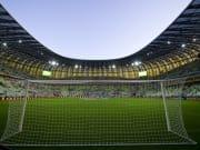 Das Stadion Miejski in Danzig.