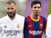 Messi, Neymar and Benzema are among players with most attempts on target in this season's Champions League