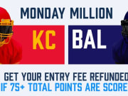 FanDuel reveals the Monday Million contest for Week 3 Monday Night Football.