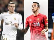 Gareth Bale, Thiago Alcantara, Alex Telles