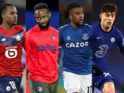 Renato Sanches, Moussa Dembele, Alex Iwobim Kai Havertz, Malcom