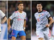 Lionel Messi, Cristiano Ronaldo, Robert Lewandowski
