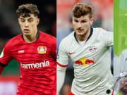 Kai Havertz, Timo Werner, Gareth Bale