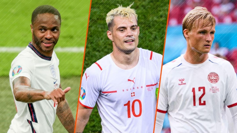 Le XI des huitièmes de finale de l'Euro 2020