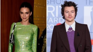 Kendall Jenner and ex Harry Styles hung out at a Brit Awards after-party