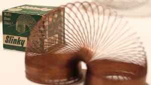 Nostalgic toys you had growing up, such as the Slinky, you can buy for your kids right now