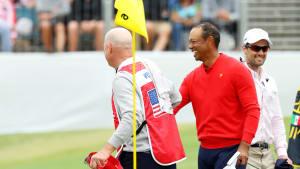 Joe LaCava, Tiger Woods