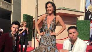 La reunión de las estrellas latinas más importante del momento en Las Vegas incluyó a Carmen Villalobos, rompiendo corazones en la alfombra roja de los...