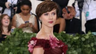 Scarlett Johansson Explains Her Marchesa Dress Choice for Met Gala