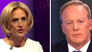 WATCH: BBC Host Grills Sean Spicer for 'Corrupting' Truth Around the World
