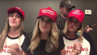 WATCH: Singing Trump Supporters Say Kavanaugh Is the 'True Rape Victim'