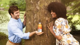 We Challenge You Not to Get Annoyed at These Millennials' vitaminwater-Themed Wedding Proposal