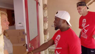 Moving is tough on everyone--including Pete Davidson and Kevin Hart. The 25-year-old Saturday Night Live star and 39-year-old comedian teamed up to help an...