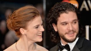 Imagine you're Rose Leslie and you meet Kit Harington on the set of Game of Thrones. Then imagine you two fall in love and then get married a couple of years...