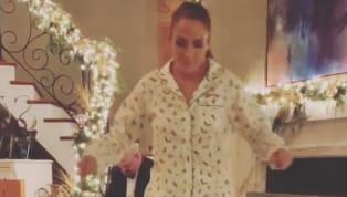 Muchas de las celebridades de Hollywood festejaron la Navidad en sus hogares junto a sus familias; y compartieron los gratos momentos a través de las redes...