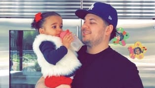 """Rob Kardashian's birthday may not have been until Saint Patrick's Day on March 17, but that didn't stop his daughter Dream from """"throwing him"""" a party on the..."""