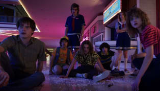 We're about to travel back to Hawkins, Indiana and everything is noticeably bigger. The first trailer for the third season of Stranger Things has finally...