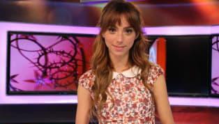 La presentadora Natalia Téllez sufre una fuerte caída en el set del programa Hoy