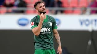 Marco Richter wollte eigentlich in diesem Sommer wechseln, durfte aber nicht. Beim FC Augsburg ist er in der aktuellen Saison noch überhaupt nicht zum Zug...