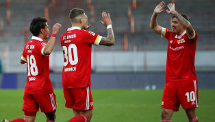 Union Berlin empfing am Samstag den Aufsteiger Arminia Bielefeld. Tore: 1:0 Endo (3.), 2:0 Andrich (13.), 3:0 Becker (45.+2), 4:0 Kruse (Foulelfmeter / 52.),...