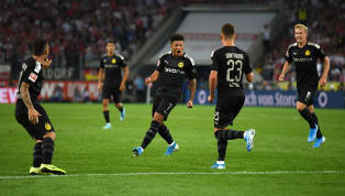 back ​Jadon Sancho grabbed a goal and an assist as Borussia Dortmund narrowly avoided a shock defeat against Koln. The Englishman let loose a left-footed arrow...