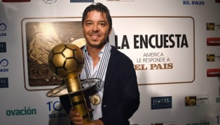 El 58% de los votantes determinaron que el DT de River es otra vez ganador del galardón entregado por 'El País'. Superó a Jorge Jesús, ganador de la Copa...